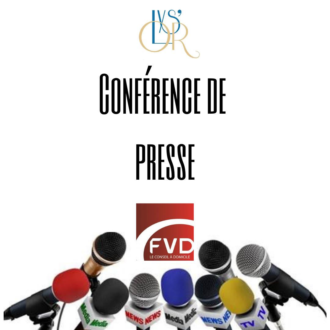 Conférence de presse fvd