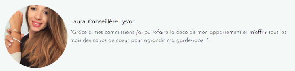 conseillère lys'or